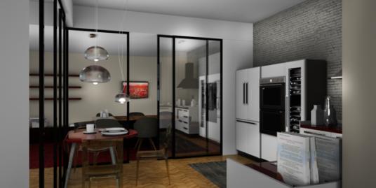 (Italiano) Elegante appartamento Washington, Milano